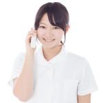 電話受付の写真